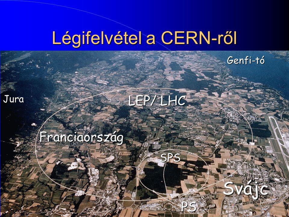 Légifelvétel a CERN-ről