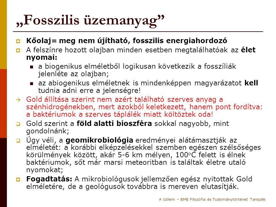 """""""Fosszilis üzemanyag"""