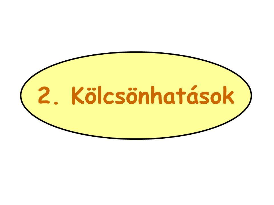 2. Kölcsönhatások