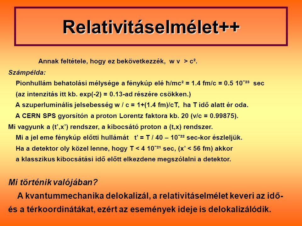 Relativitáselmélet++