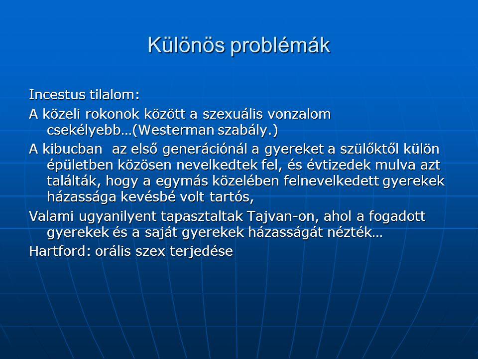 Különös problémák