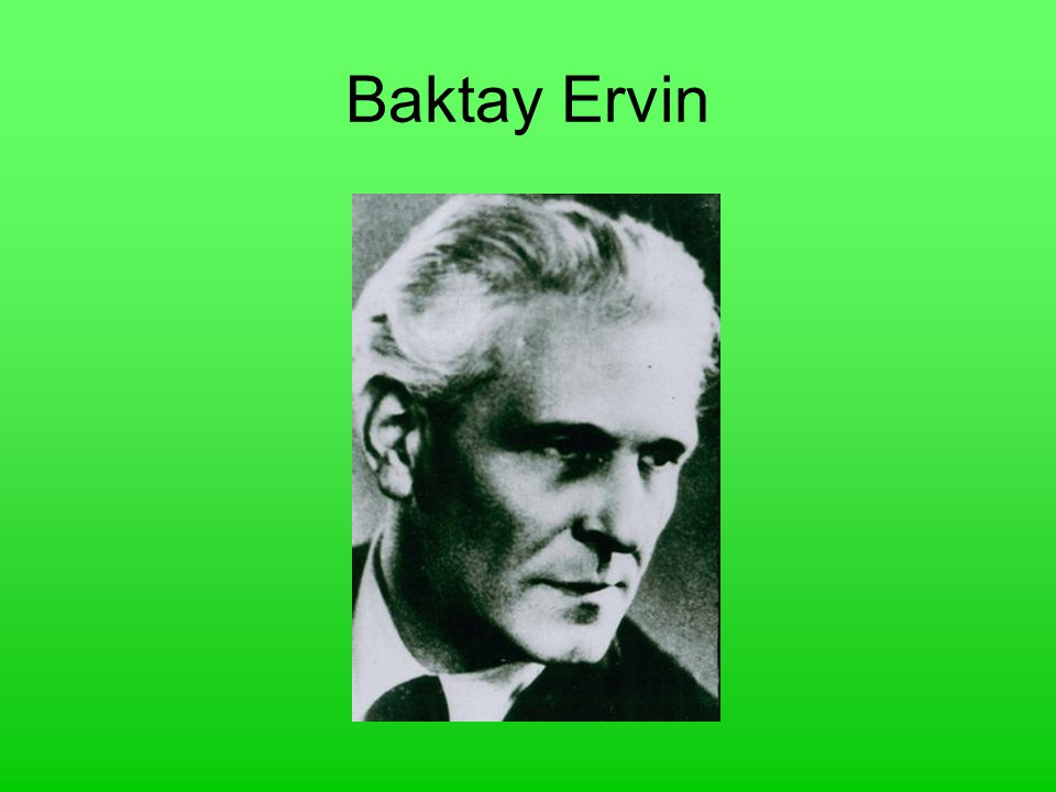 Baktay Ervin