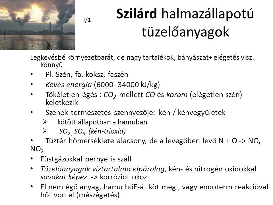 Szilárd halmazállapotú tüzelőanyagok
