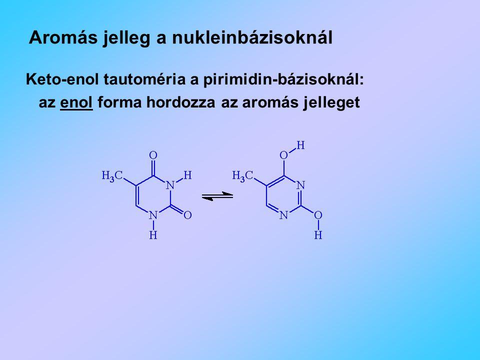 Aromás jelleg a nukleinbázisoknál