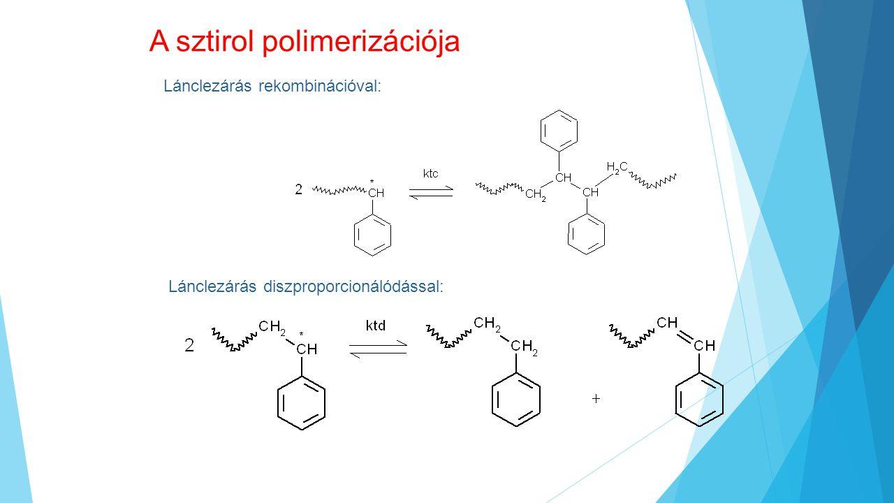 A sztirol polimerizációja