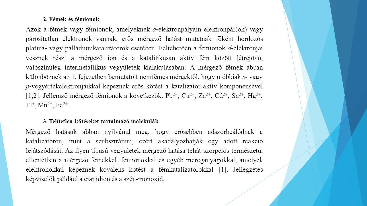 2. Fémek és fémionok