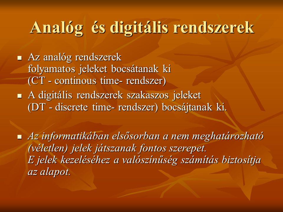 Analóg és digitális rendszerek