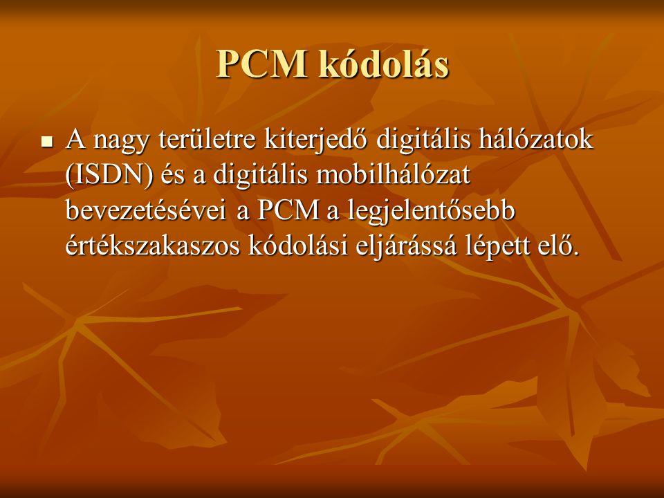 PCM kódolás