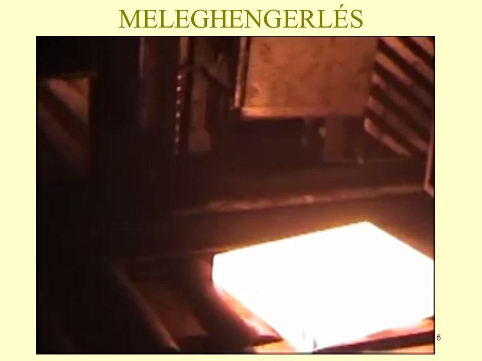 MELEGHENGERLÉS
