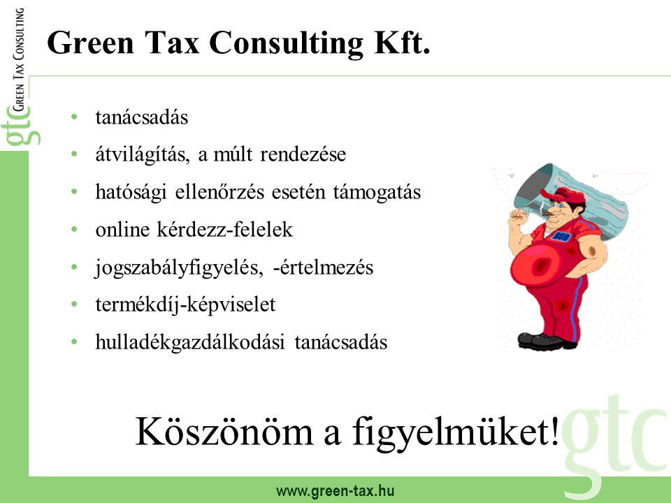 Green Tax Consulting Kft.