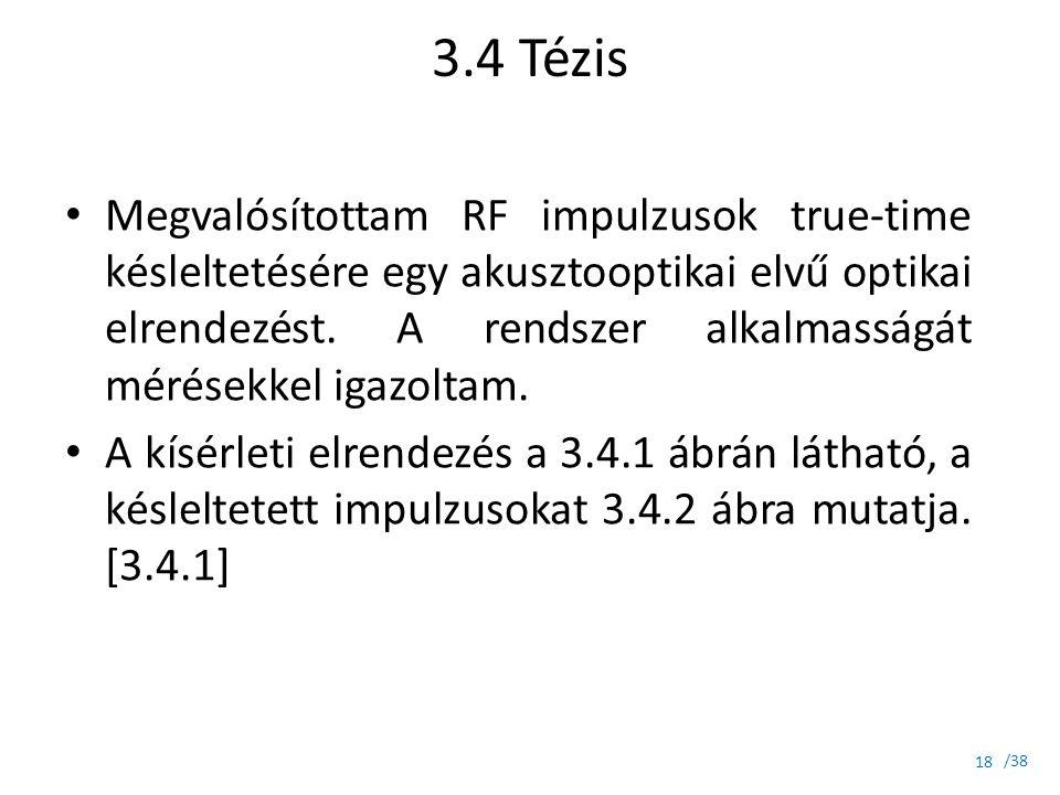 3.4 Tézis