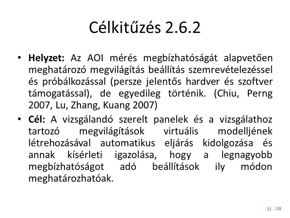 Célkitűzés 2.6.2