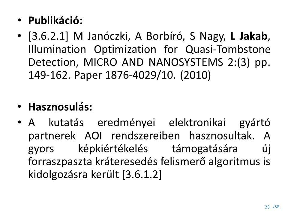 Publikáció: