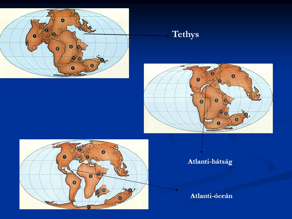 Tethys Atlanti-hátság Atlanti-óceán