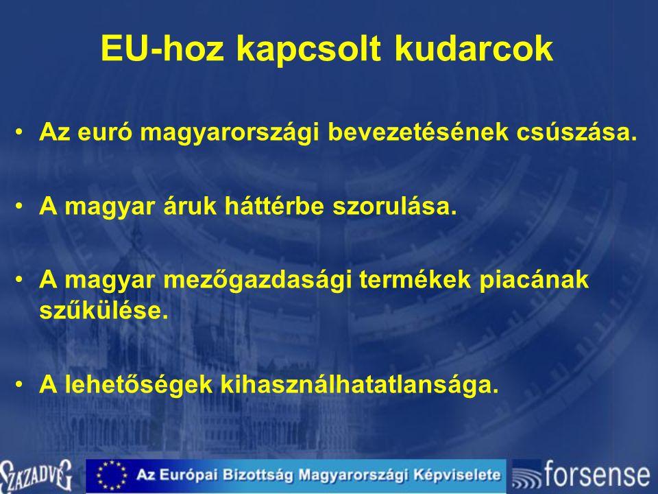 EU-hoz kapcsolt kudarcok
