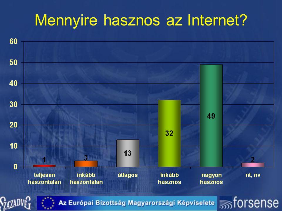 Mennyire hasznos az Internet
