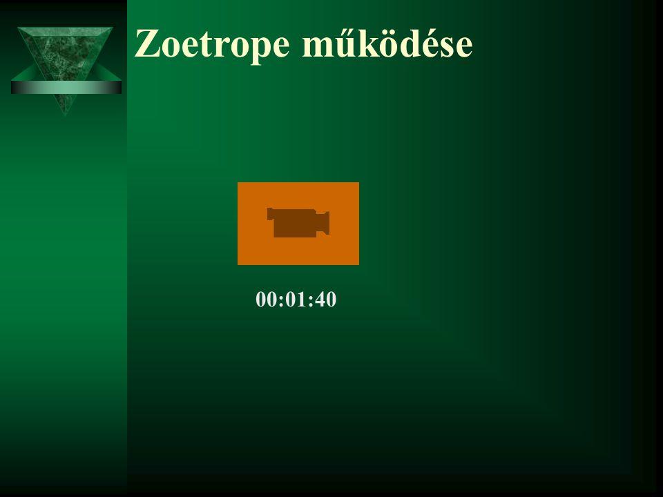 Zoetrope működése 00:01:40