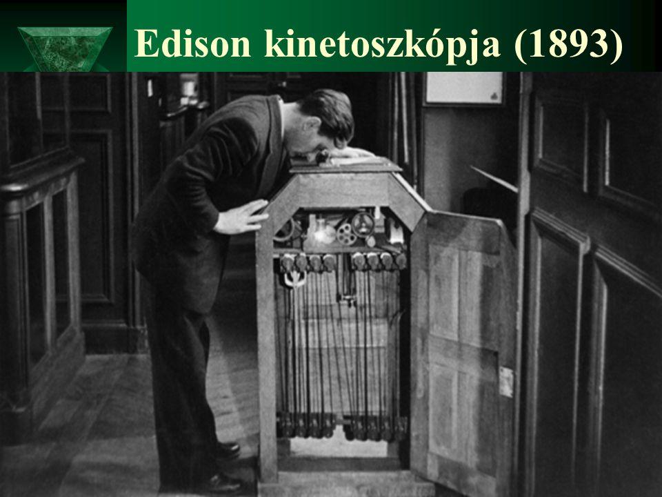 Edison kinetoszkópja (1893)