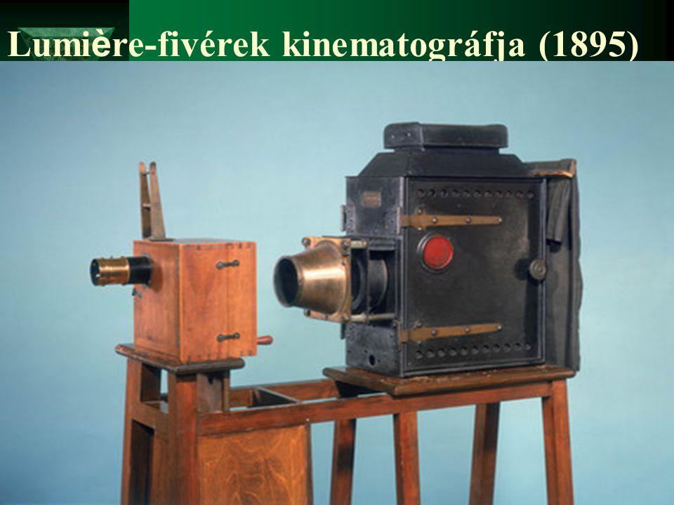 Lumière-fivérek kinematográfja (1895)
