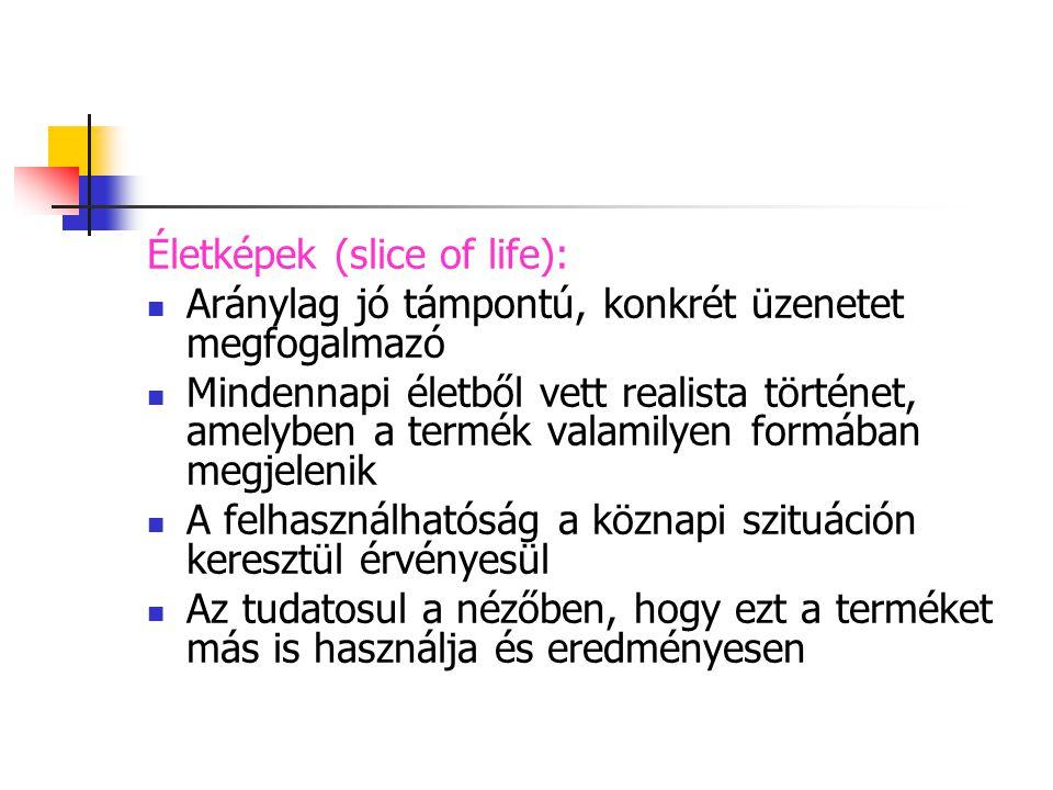 Életképek (slice of life):