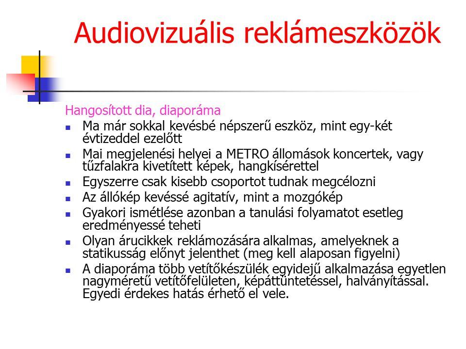 Audiovizuális reklámeszközök