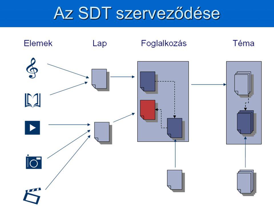 Az SDT szerveződése