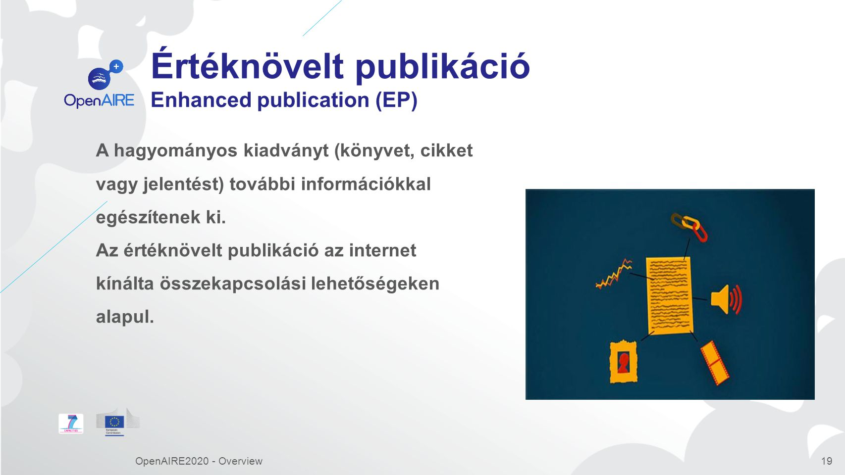 Értéknövelt publikáció Enhanced publication (EP)