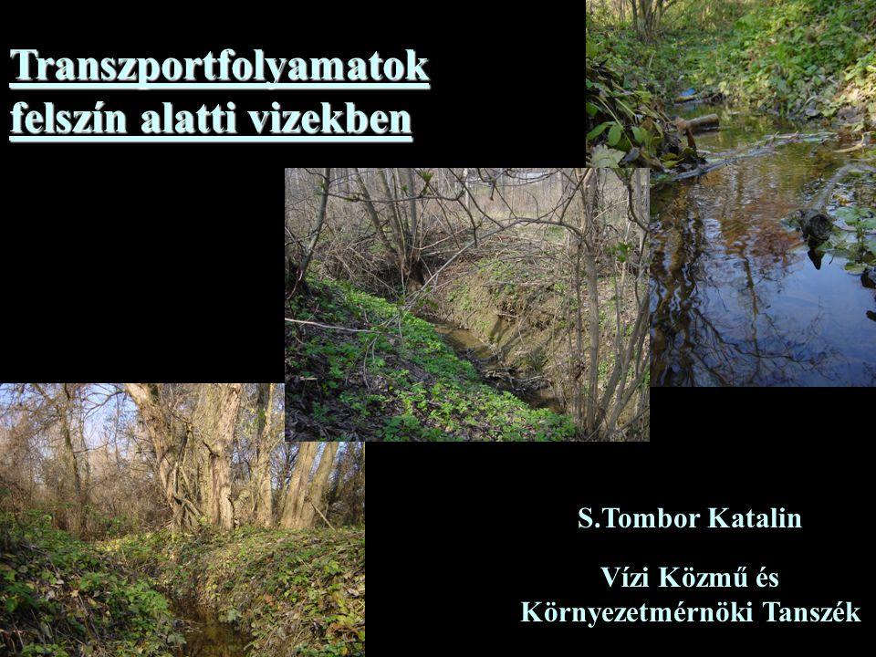 Vízi Közmű és Környezetmérnöki Tanszék