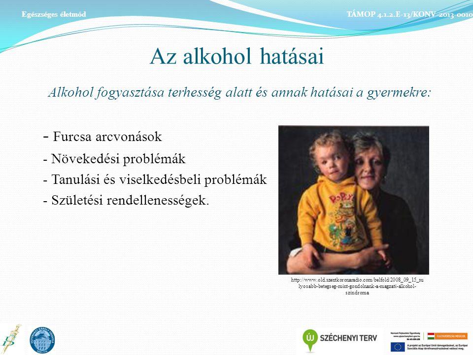 Alkohol fogyasztása terhesség alatt és annak hatásai a gyermekre: