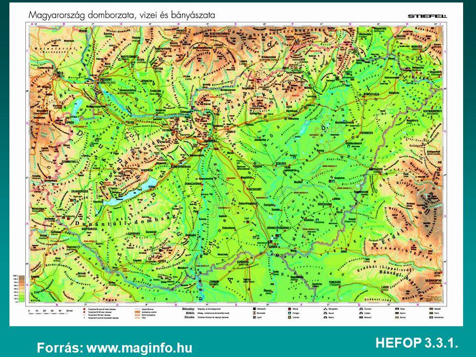 HEFOP 3.3.1. Forrás: www.maginfo.hu