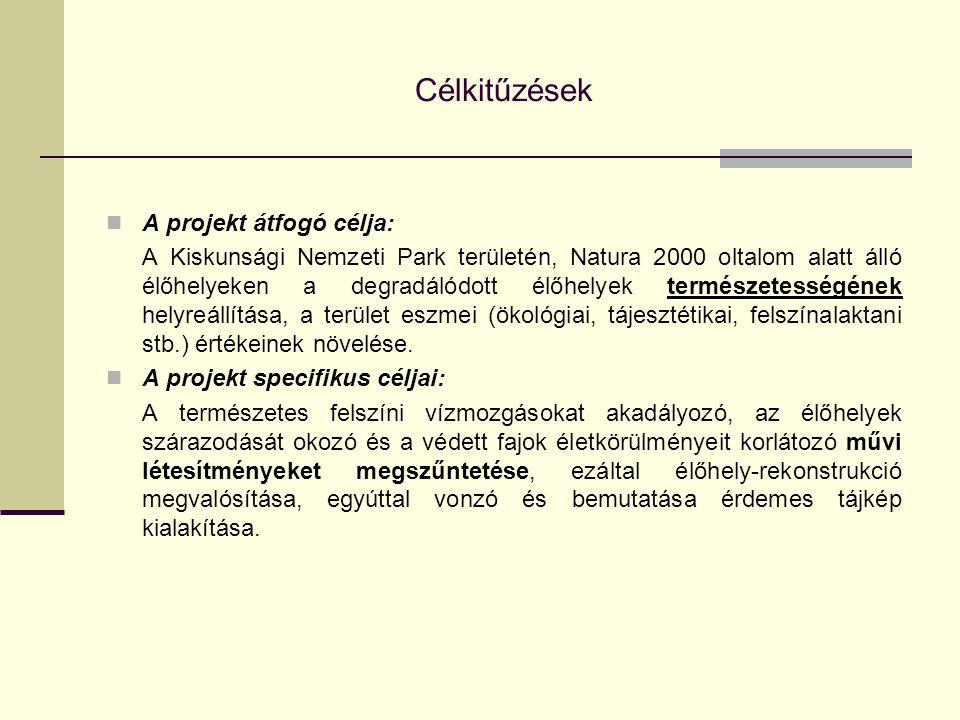 Célkitűzések A projekt átfogó célja:
