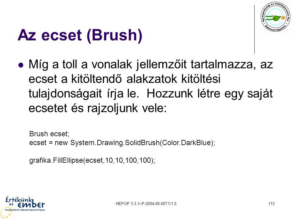 Az ecset (Brush)