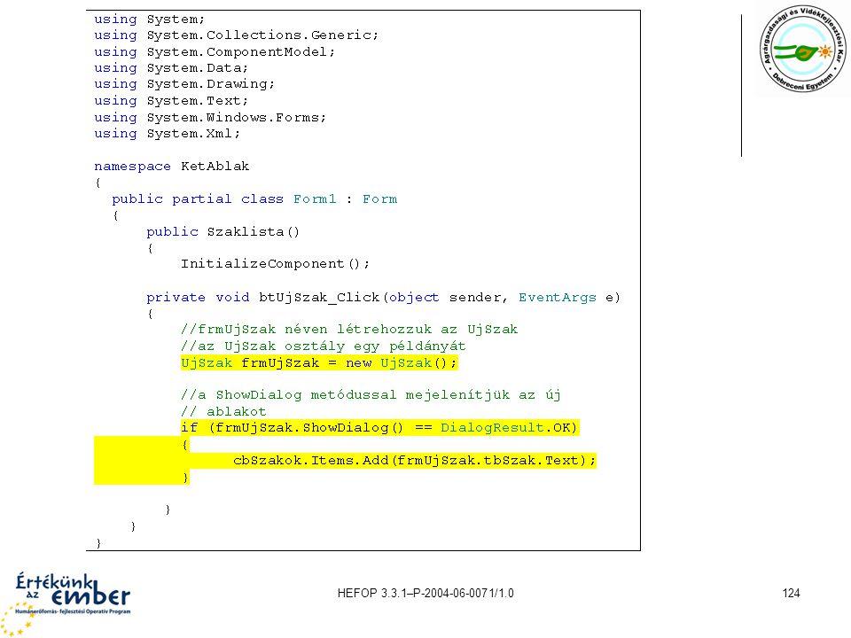 HEFOP 3.3.1–P-2004-06-0071/1.0