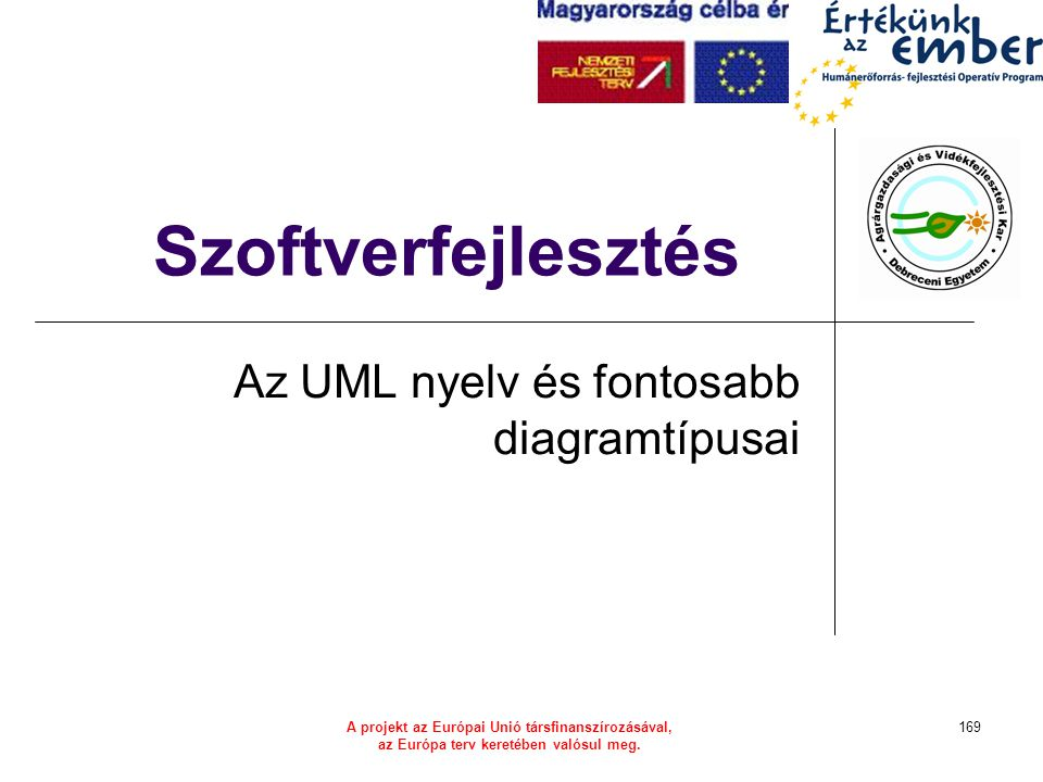 Az UML nyelv és fontosabb diagramtípusai