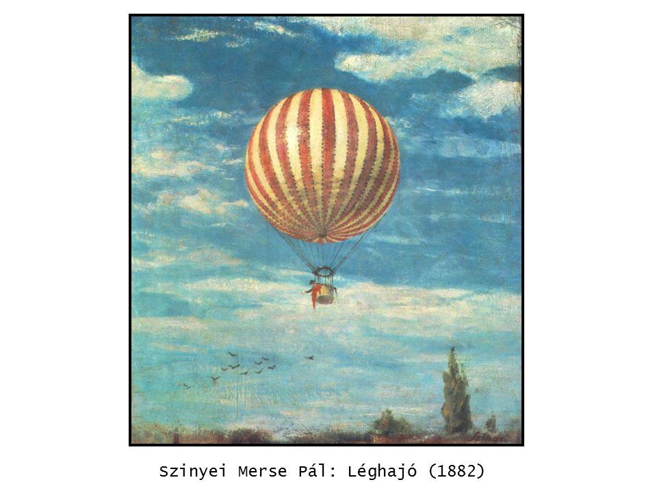 kép Szinyei Merse Pál: Léghajó (1882)