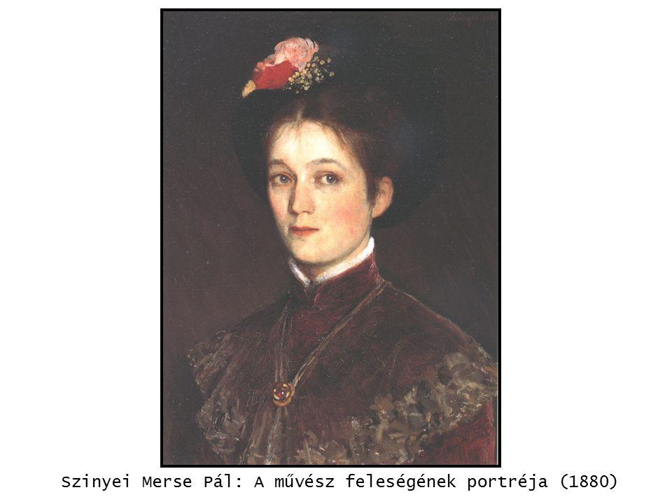 Szinyei Merse Pál: A művész feleségének portréja (1880)