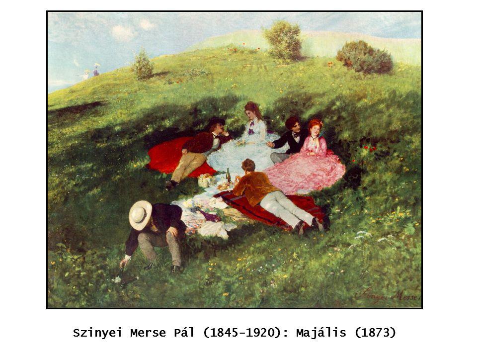 kép Szinyei Merse Pál (1845-1920): Majális (1873)