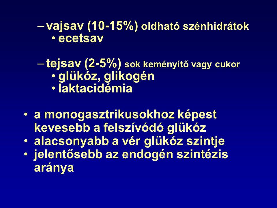 vajsav (10-15%) oldható szénhidrátok