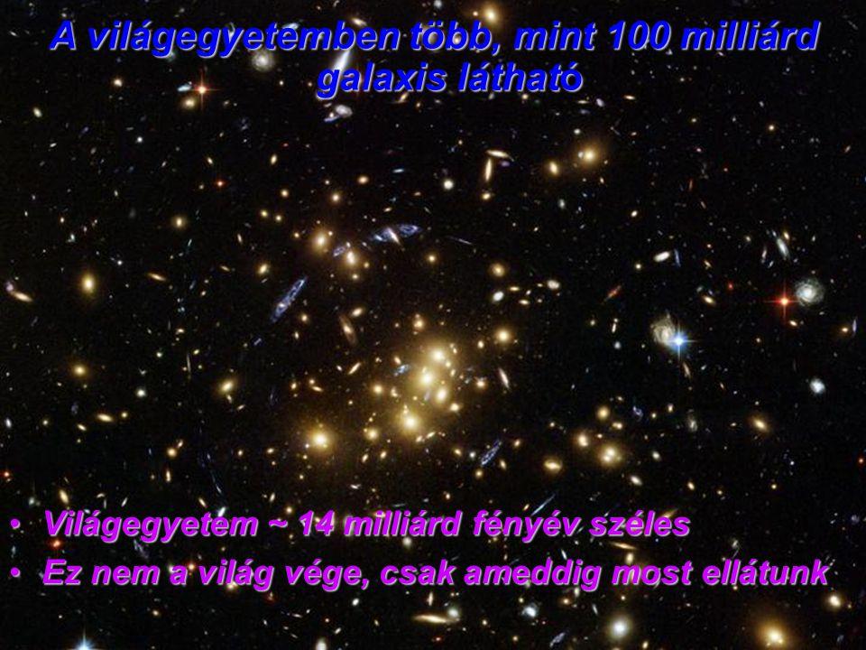 A világegyetemben több, mint 100 milliárd galaxis látható
