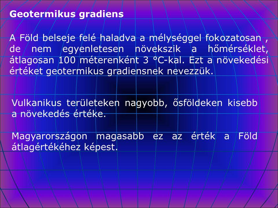 Geotermikus gradiens