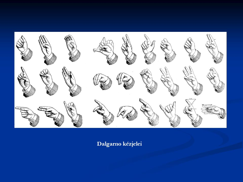 Dalgarno kézjelei