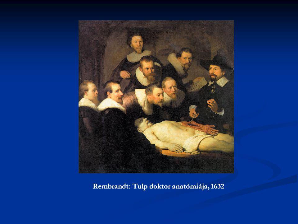 Rembrandt: Tulp doktor anatómiája, 1632