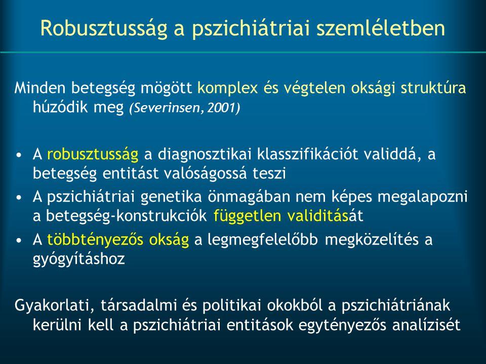 Robusztusság a pszichiátriai szemléletben