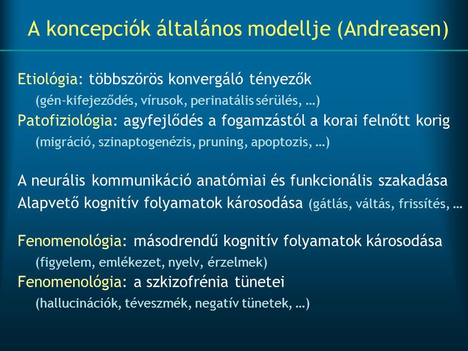 A koncepciók általános modellje (Andreasen)