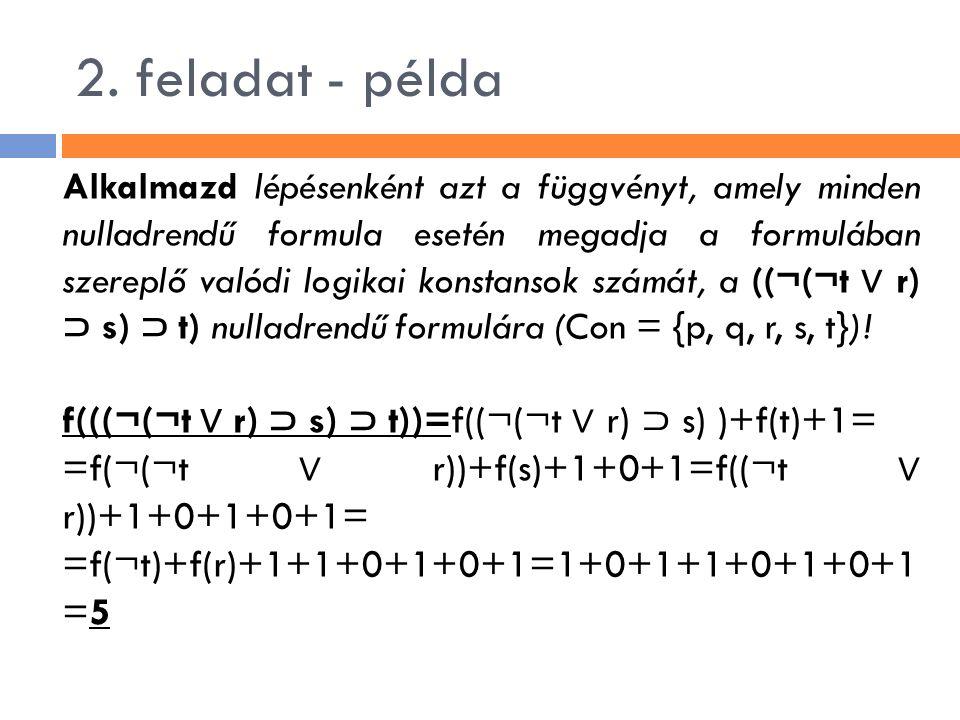 2. feladat - példa