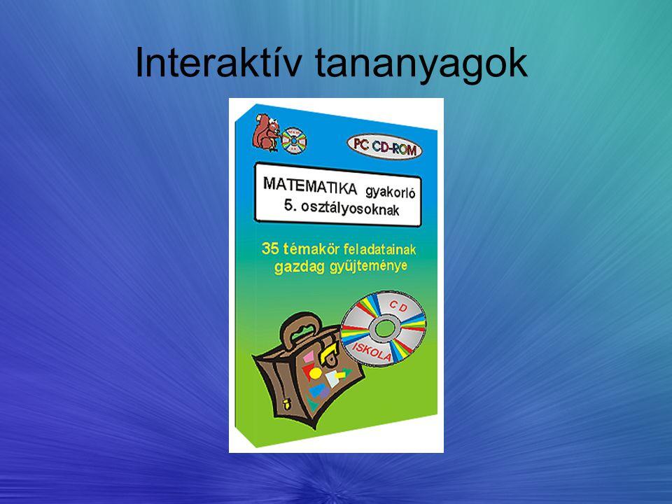 Interaktív tananyagok