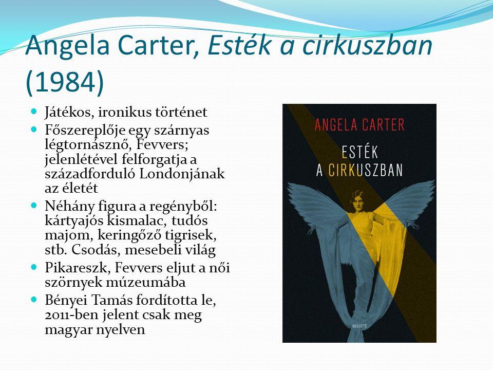 Angela Carter, Esték a cirkuszban (1984)