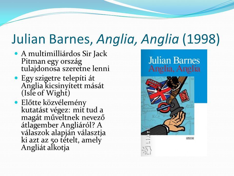 Julian Barnes, Anglia, Anglia (1998)