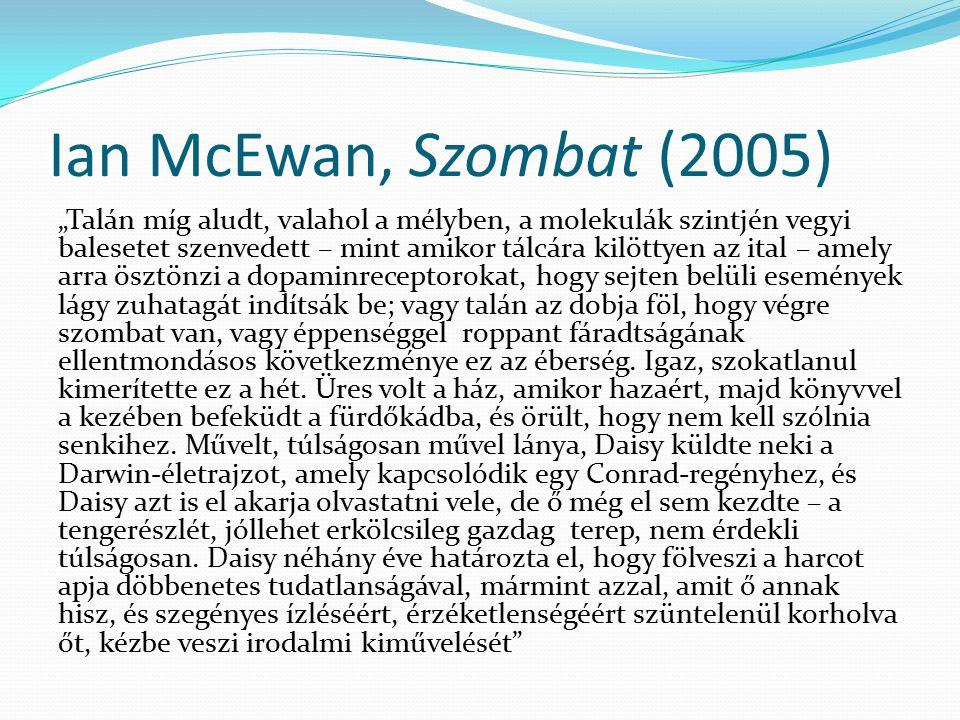 Ian McEwan, Szombat (2005)
