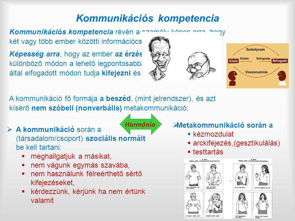 Kommunikációs kompetencia